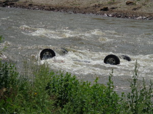car-upside-down-submerged-in-river